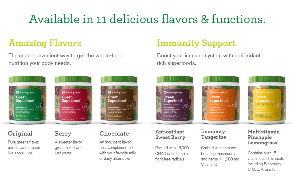 11 Amazing Flavors & Functions