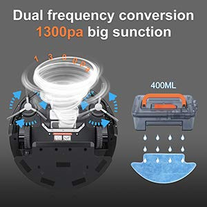 1200pa Power Suction