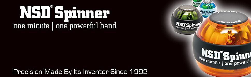 NSD Spinner Precision Made By Its Inventor Since 1992