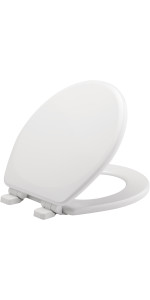 no pinched fingers, slam, quiet,soft, close, slow, easy close, never loosen, toilet seat
