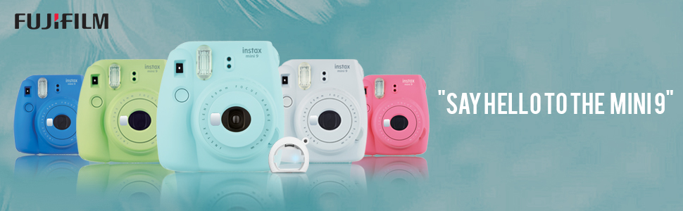 Instax Mini9 ice blue instant camera