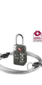 tsa approved compliant luggage lock