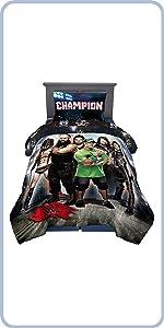 WWE world wrestling entertainment champion kids bedding children bedroom character accessories