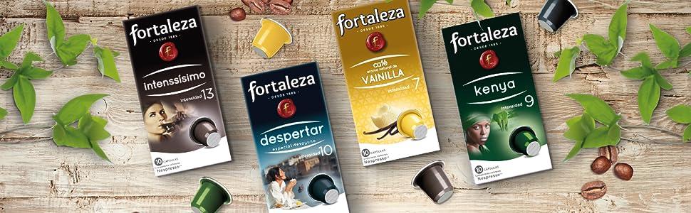 CAFE FORTALEZA CAPSULAS COMPATIBLES CON NESPRESSO