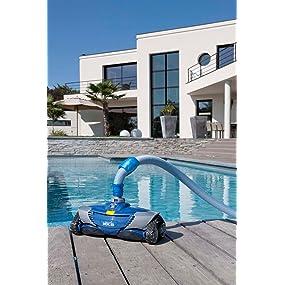 Zodiac W70668 MX8 - Limpiafondos hidráulico para piscinas enterradas de hasta 12 x 6 m: Amazon.es: Jardín