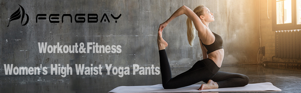 Amazon.com: Fengbay Pantalones de yoga de cintura alta ...