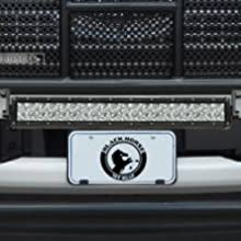 LED lights mount grille brush guard rugged front protection