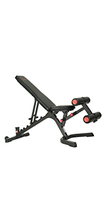 Sunny Health & Fitness Fully Adjustable Utility Weight Bench - SF-BH6920