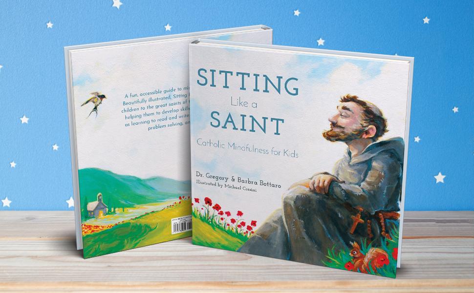 Children's books, children mindfulness, catholic children, christian children