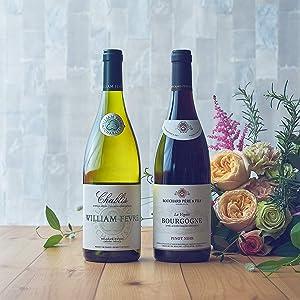 ワイン 赤ワイン 白ワイン ワインギフト ブルゴーニュ シャブリ シャルドネ ピノノワール 母の日 父の日