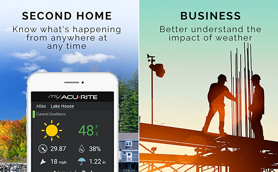 weather station iphone, android weather station, weather station indoor outdoor