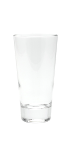 Compare the details of these crystal highball glasses.