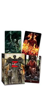 Zombies, zombie tarot, zombie tarot deck, walking dead, walking dead tarot, tarot, tarot deck