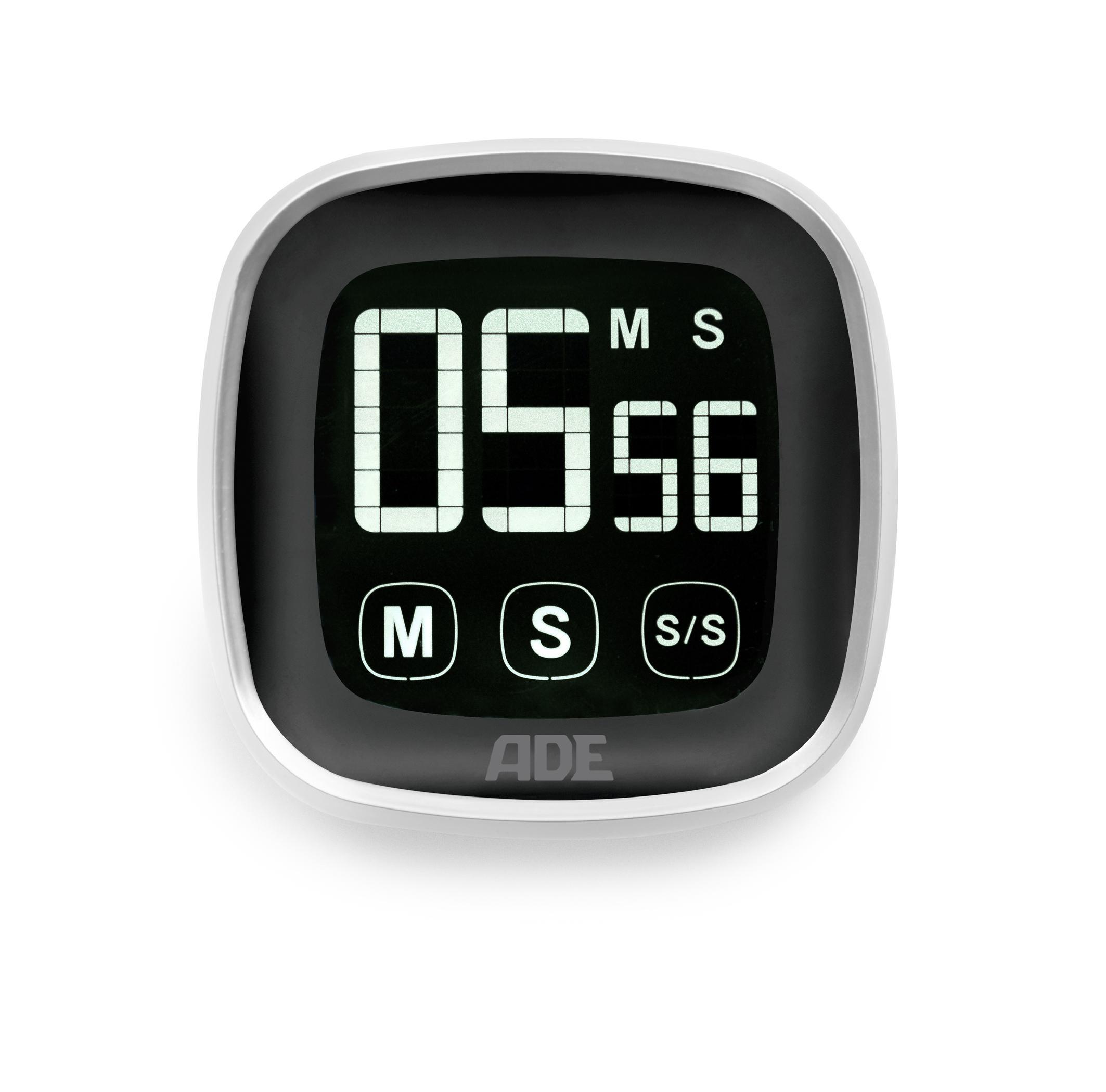ADE Digitaler Küchentimer TD 1302. Elektronischer Kurzzeitmesser im ...