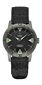 Super Sea Wolf, ZO9205, Automatic Movement, Limited Edition, Timeless, Titanium Case