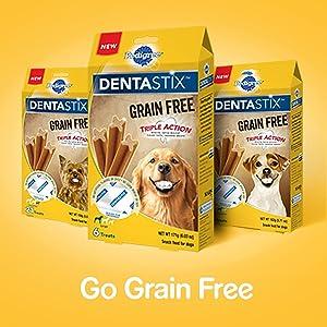 DentaStix Grain Free Treats; Coming Soon; Same Teeth Cleaning Action