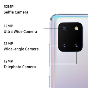 Samsung Galaxy Note10 Lite multi camera