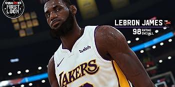 レブロン・ジェームズ NBA 2K19 レーティング