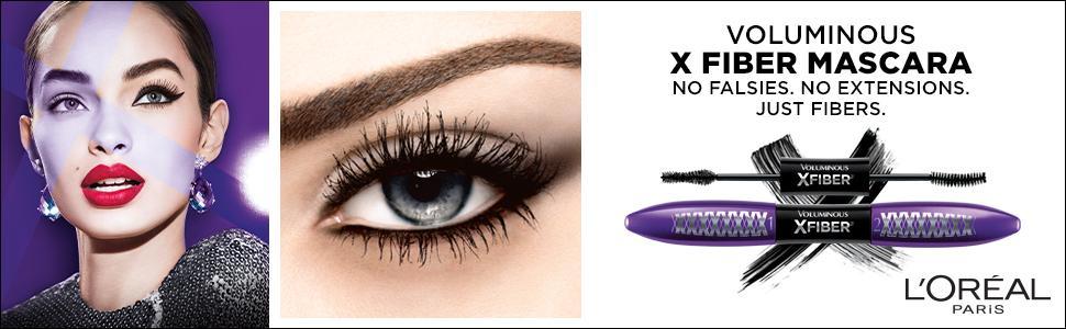 09f6c216066 Amazon.com : L'Oréal Paris Makeup Voluminous X Fiber Waterproof ...