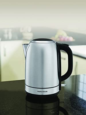 Morphy Richards Equip Stainless Steel Jug Kettle Brushed 102779