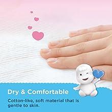 Dry & Comfortable