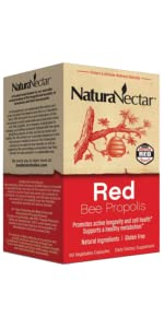 Brazilian Red Propolis,Red Bee Propolis,Red Propolis, NaturaNectar,Red Propolis,Antioxidant,ORAC