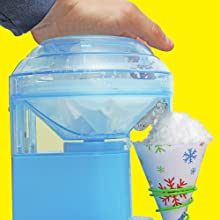 make shaved ice snow
