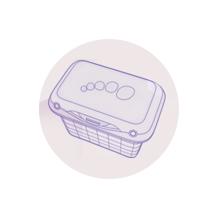 Formato higiénico, seguro, práctico y con enrasador. Preparar el biberón para bebé