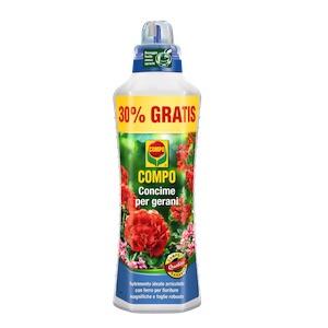 concime liquido gerani fertilizzante compo