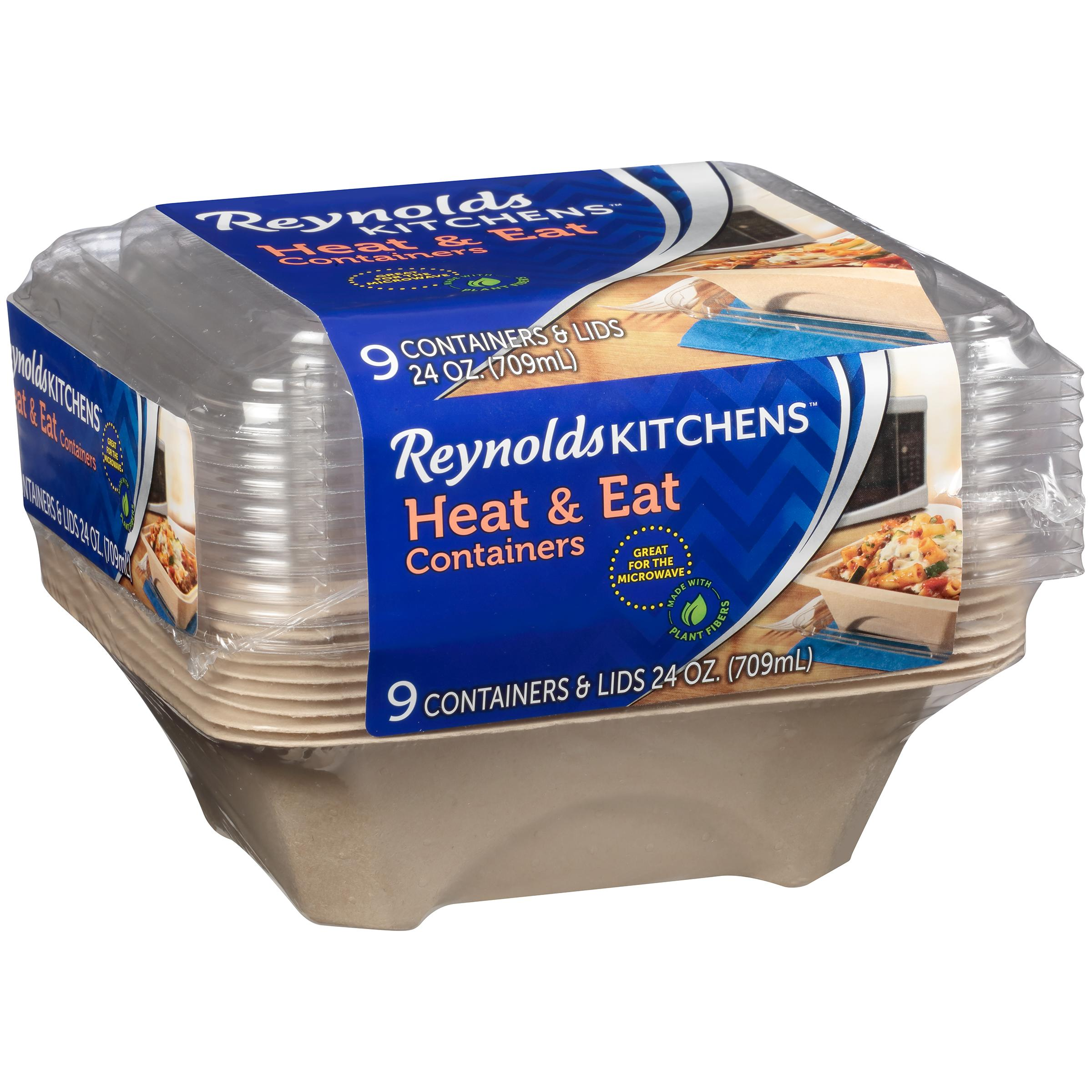 Reynolds Kitchens Heat And Eat Disposable Containers