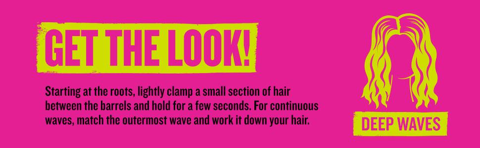 beachy waves, waver, hair waver, hair wavers, bed head; bed head waver, wave artist