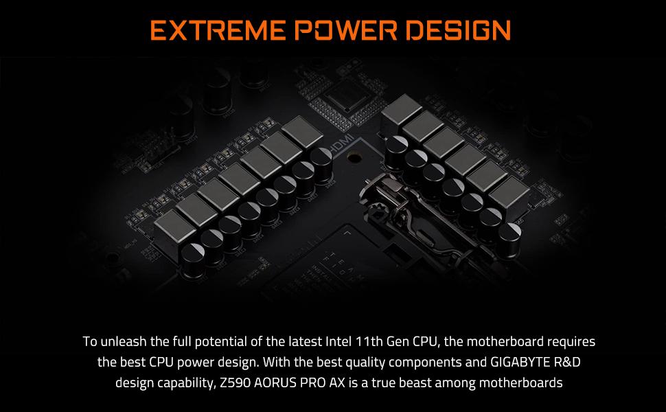 z590 extreme power