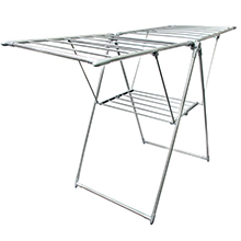 35 Metre '3-Fold Wing' Clothes Drying Airer Rack : Easy and convenient assembly