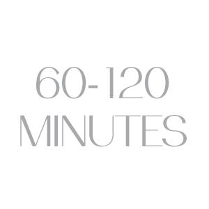 60-120 minutes