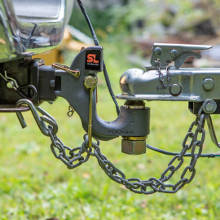 20,000 Pounds CURT 48411 SecureLatch 2-Inch Ball and Pintle Hitch Hook Combination Mount Required
