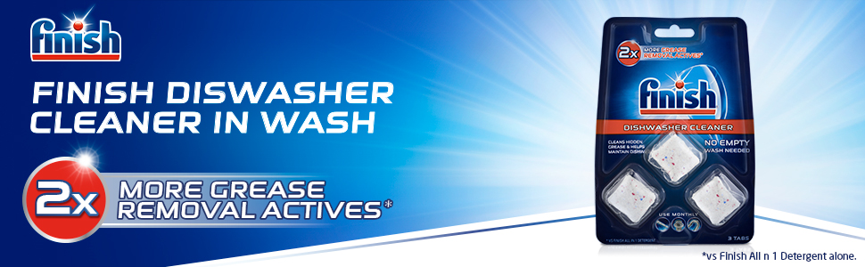 Finish;finish dishwasher cleaner;finish dishwashing;dishwasher cleaner