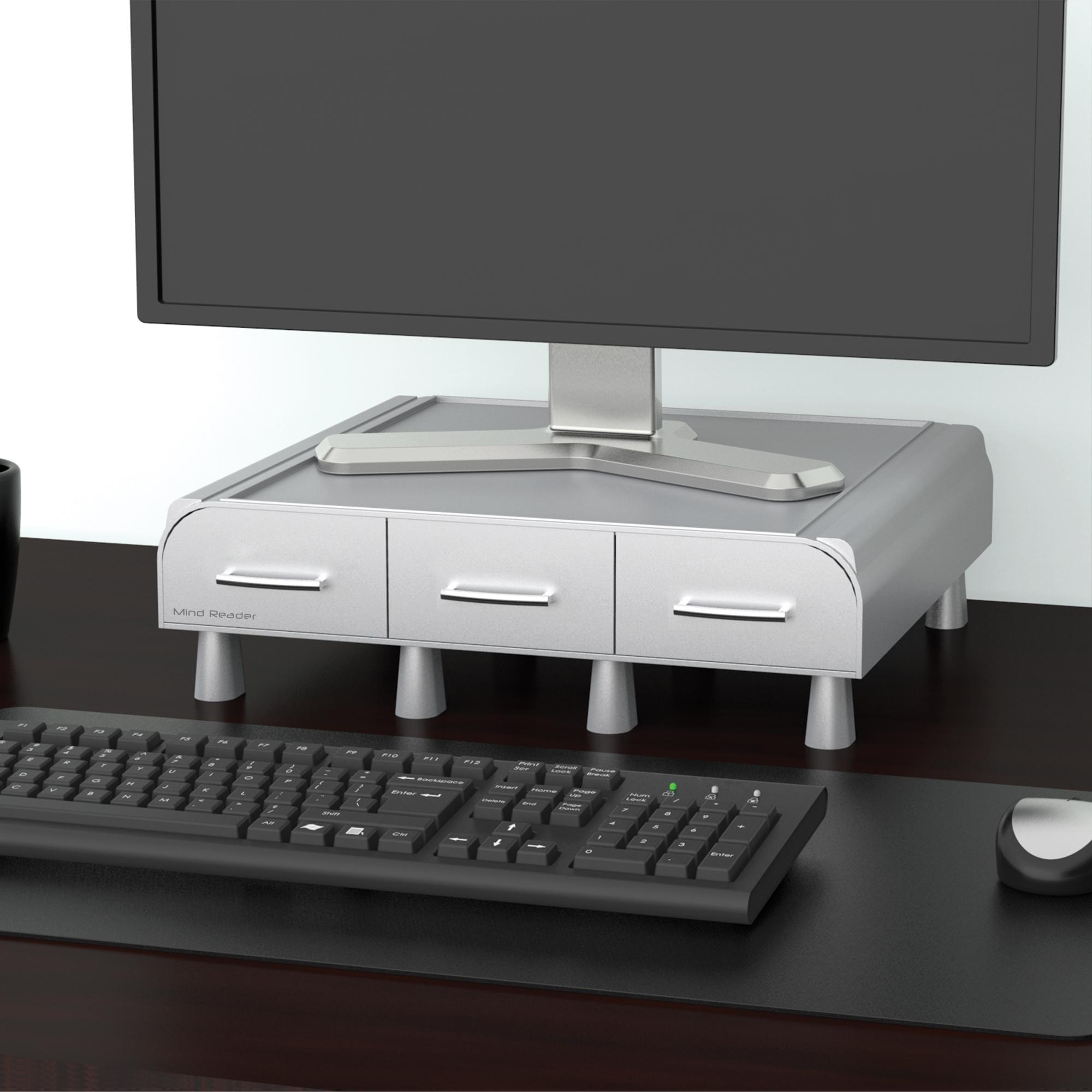 Amazon Com Mind Reader Perch Pc Laptop Imac Monitor
