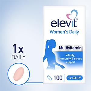 Elevit Women's Daily Multivitamin, Women's Daily Multivitamin, Women's Multivitamin, Multivitamin