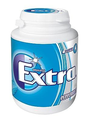 Extra, Peppermint, bubble gum, bubblegum, chewing gum, Extra Gum, sugar free, sugarfree gum, Wrigley