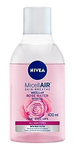 NIVEA MicellAIR Skin Breathe Agua Micelar Piel Seca/Sensible ...