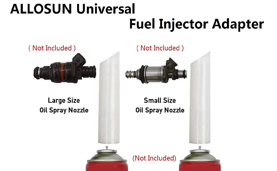 Pack of 6 Fuel Injector Nozzle Holder Cap /& O-Ring for Toyota Ships Fast!
