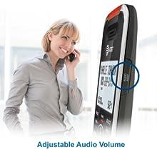 Adjustable audio volume