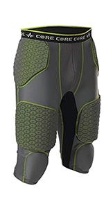 adult 7 pad football girdle