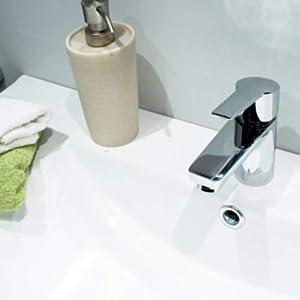 Start Xtreme - Grifo de lavabo monomando repisa, altura caño 65mm ...