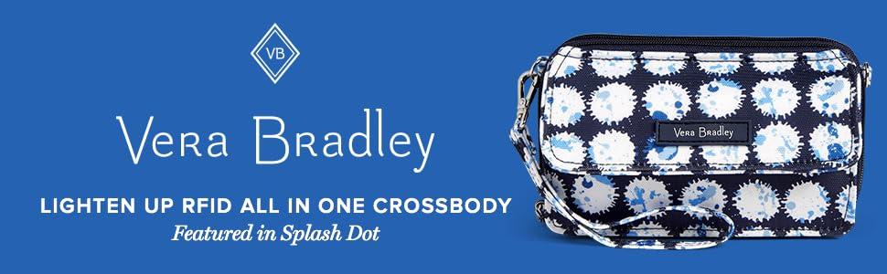 c8fd1d7150 Vera Bradley Women s Lighten Up RFID All-In-One Crossbody Bramble ...