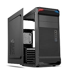 Nox Kore - Caja de ordenador torre ATX, color negro: Nox: Amazon ...