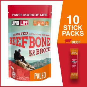 10 Stick Packs Beef Bone Broth