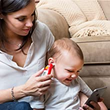 Thermometer infrared ear safe fast baby registry gift braun iproven bluetooth iphone android best