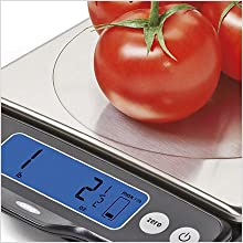 Amazon Com Oxo Good Grips Stainless Steel Food Scale With