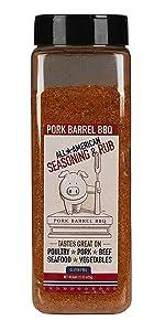 Spice Seasoning Pork Barrel BBQ All Purpose Pork Butt Spices Dry Rub